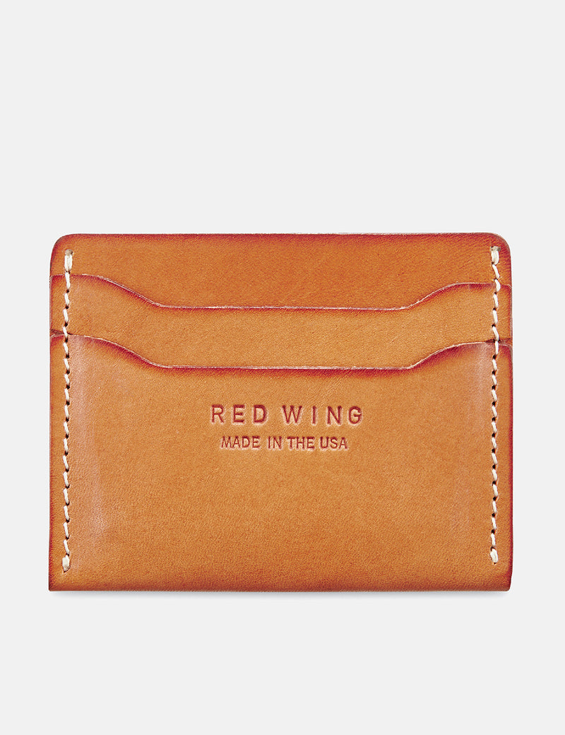 Red Wing Kartenhalter Brieftasche - London Tan