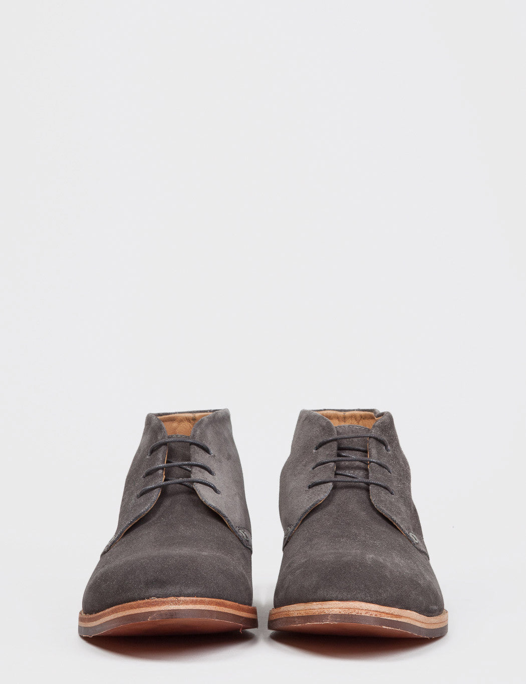Hudson Houghton 3 Suede Boots - Grey