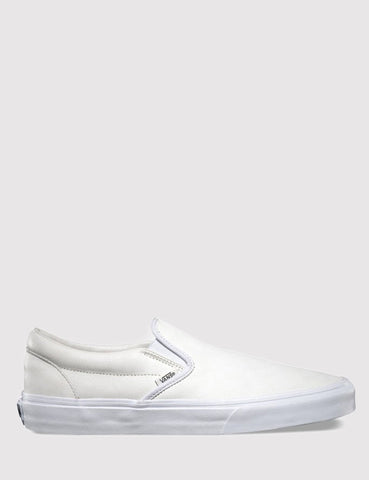 Vans Premium Leather Slip On - White