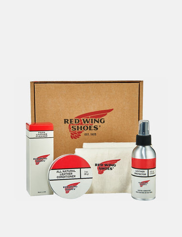 Red Wing Oil Tanned Leather Gift Pack - Natural