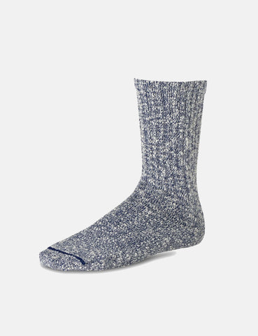 Red Wing Cotton Ragg Socks - Blue