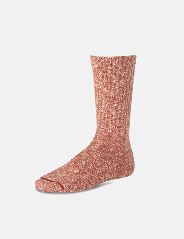 Red Wing Cotton Ragg Socks - Red