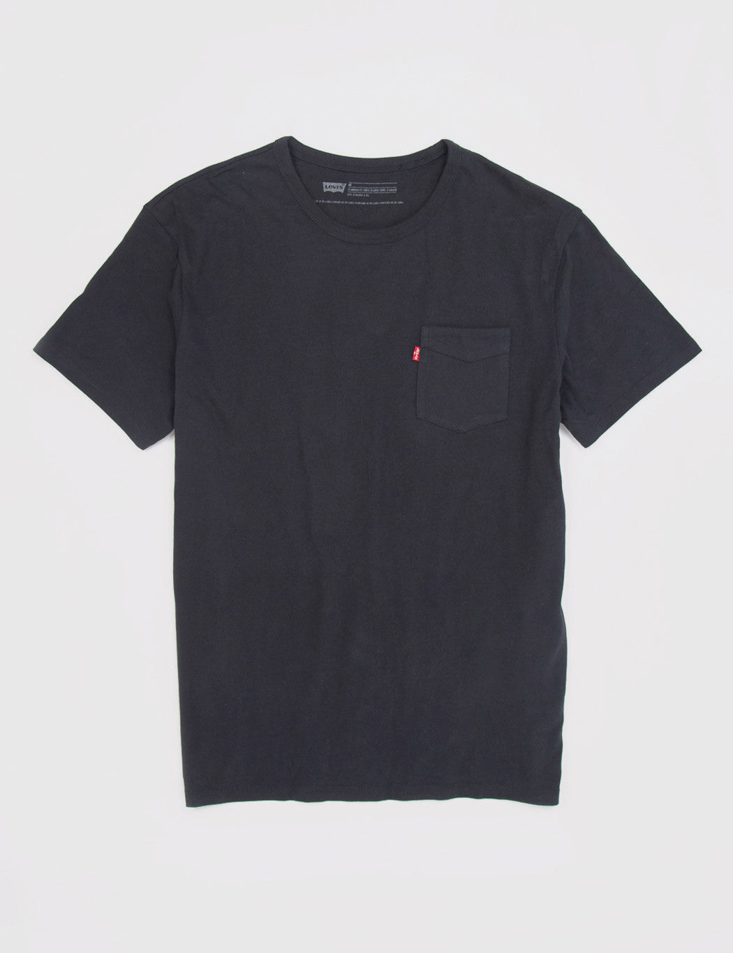 Levis Sunset Pocket T-Shirt - Black
