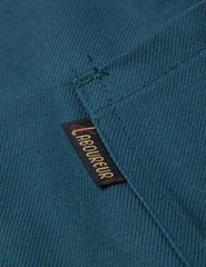 Le Laboureur Cotton Drill Work Jacket - Forest Green