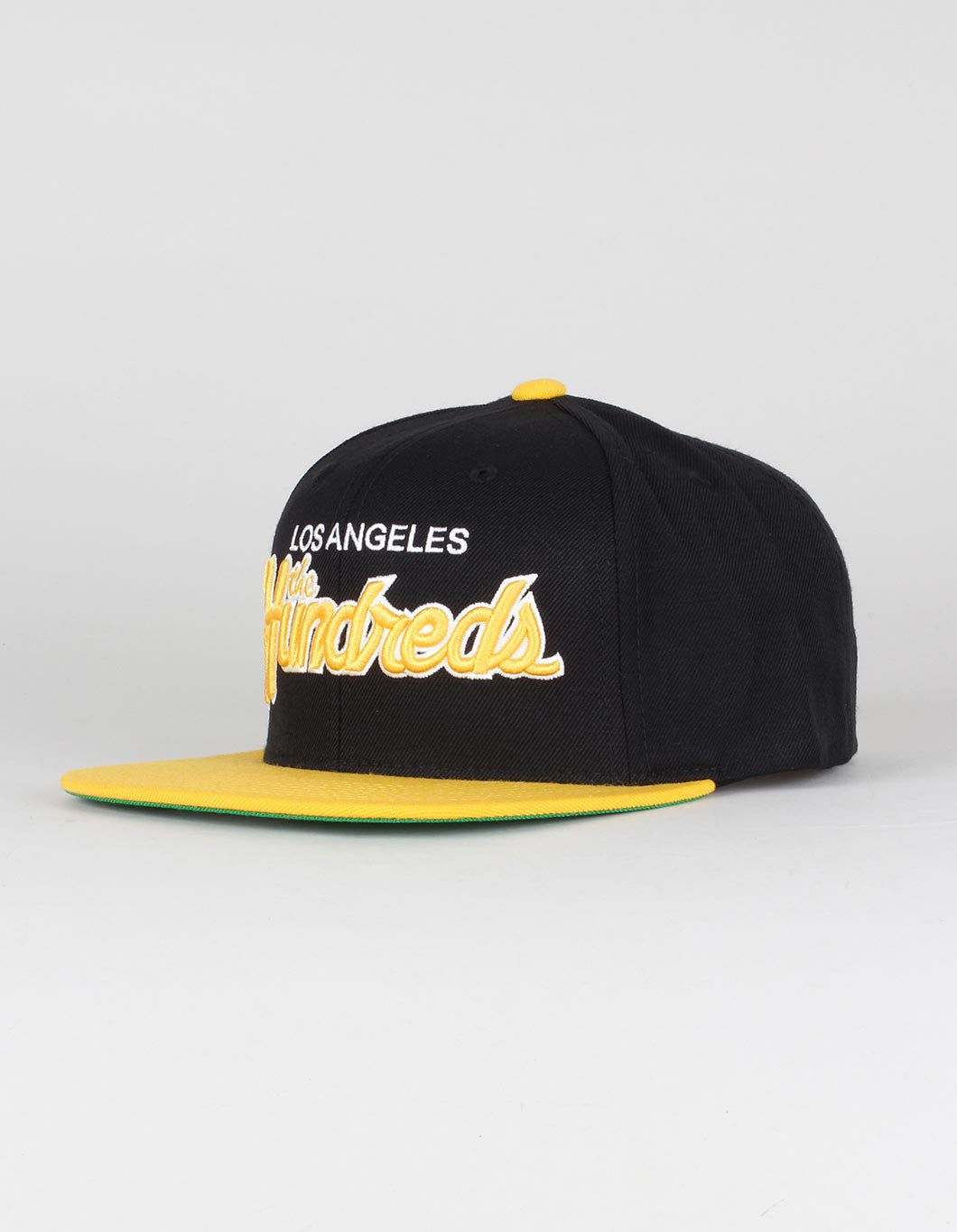 The Hundreds Team Two Snapback Cap - Black/Yellow