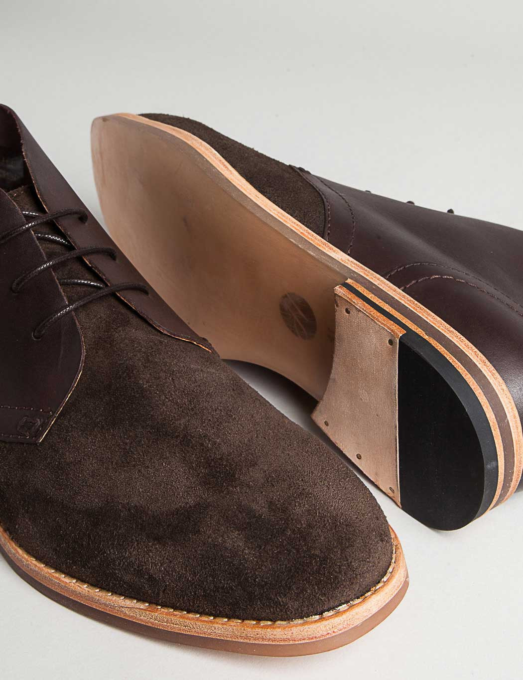Hudson Houghton Suede Chukka Boot - Brown
