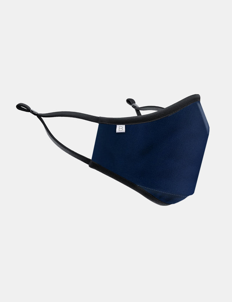 Breathe Face Mask Inc. Filter - Navy Blue