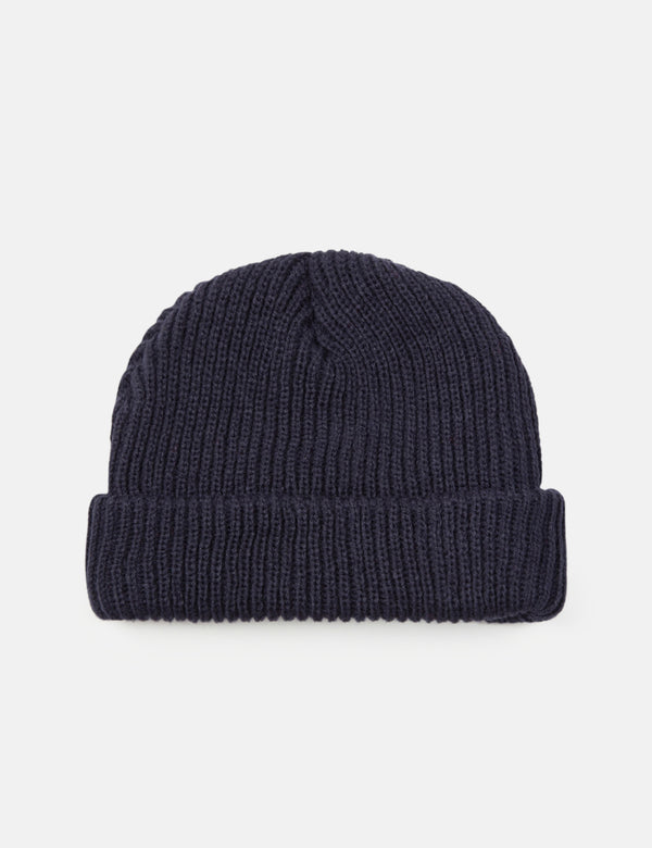 Article. Bonnet Fisherman Rib Beanie - Bleu Marine