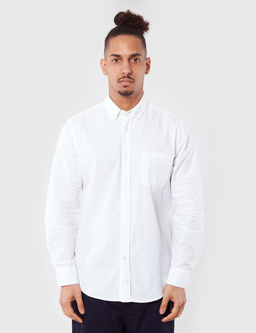 Portuguese Flannel Atlantico Shirt - White