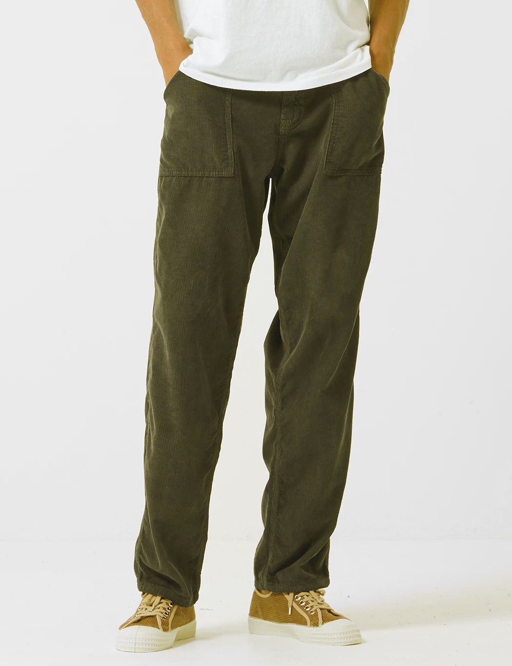 Stan Ray Fatigue Cord Pant (Tapered) - Olive Green