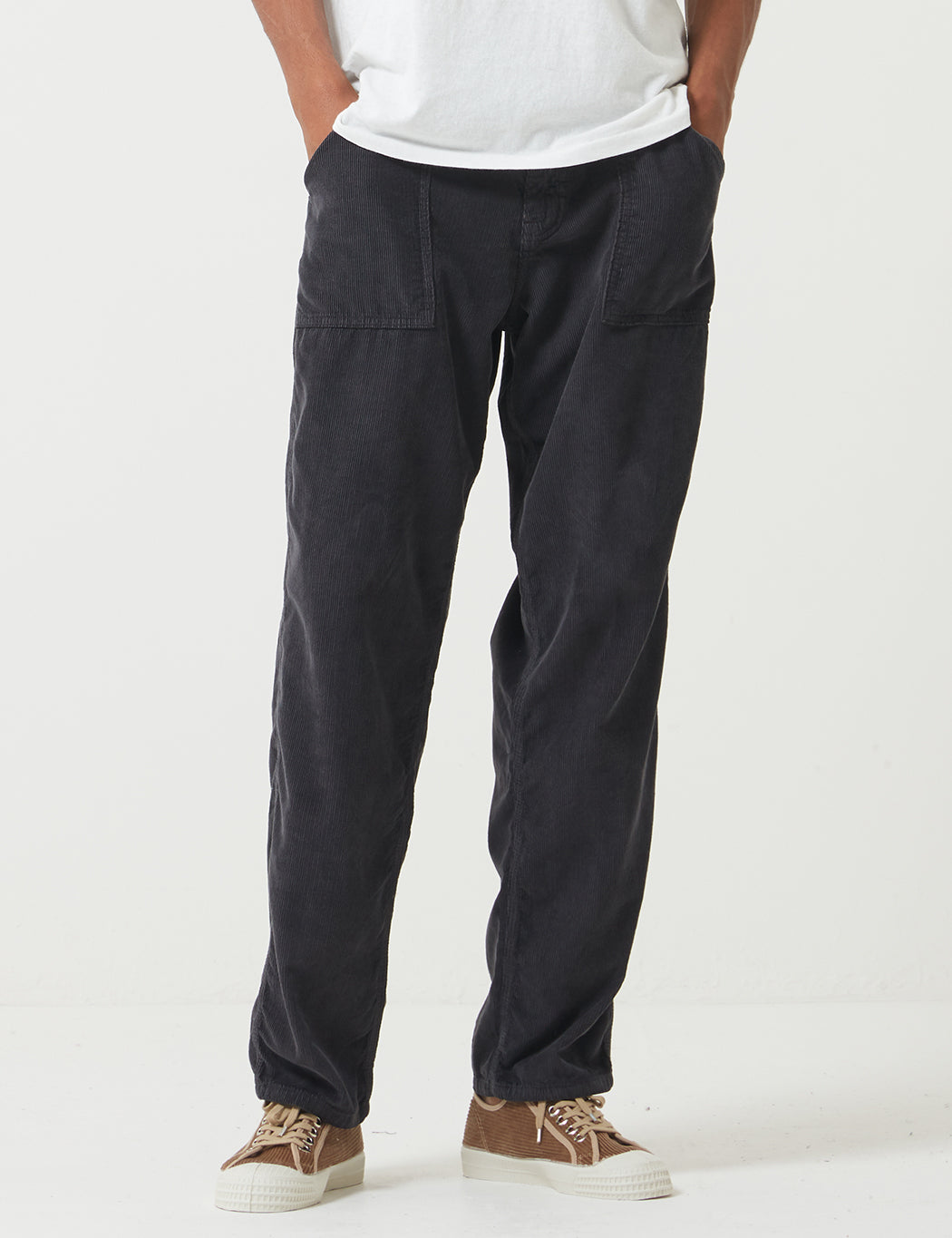 Stan Ray Fatigue Cord Pant (Taper) - Navy Blue