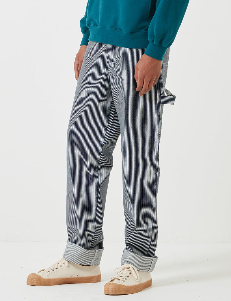 Stan Ray 80's Painter Pant (Straight) - Hickory Stripe