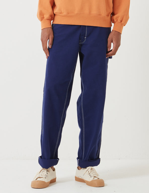 Stan Ray 80's Painter Pant Overdye (Straight) - Navy Blue