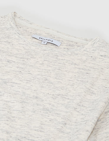 Bellfield Alston Injected Slub T-Shirt - White