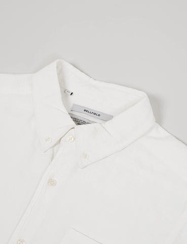 Bellfield Connaught Long Sleeve Shirt - White