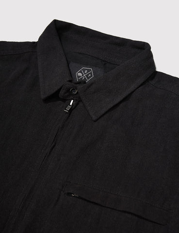 Bellfield Drive Zip Shirt - Black