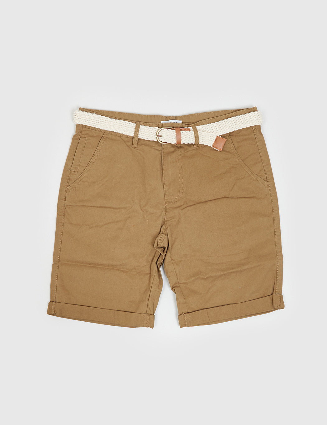 Bellfield Francis Chino Shorts - Tobacco