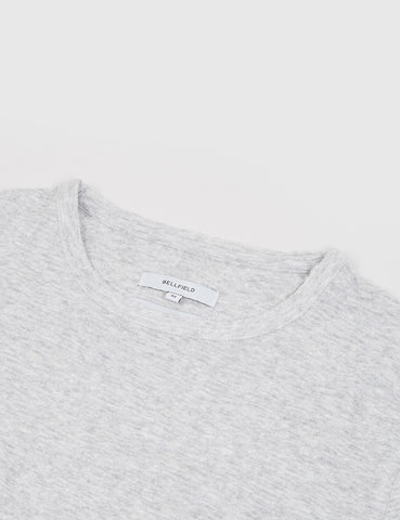 Bellfield Maywood Jacquard T-Shirt - Grey