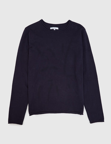Bellfield Niles Fine Knit Jumper - Navy