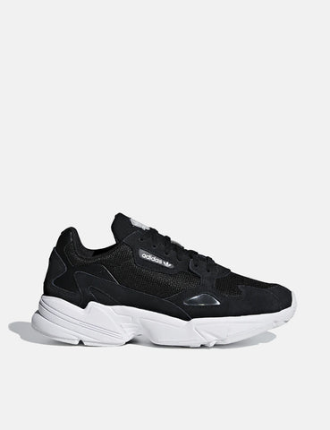 adidas Falcon Shoes (B28129) - Core Black/Cloud White
