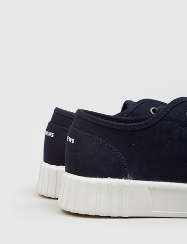 Good News Bagger Low Trainers (Canvas) - Navy
