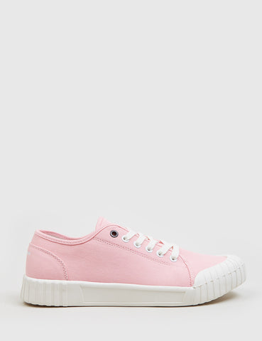 Good News Bagger Low Trainers (Canvas) - Pink