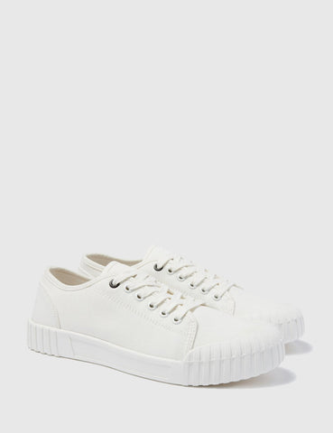 Good News Bagger Low Trainers (Canvas) - White