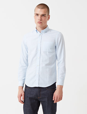 Portuguese Flannel Belavista Shirt - Light Blue
