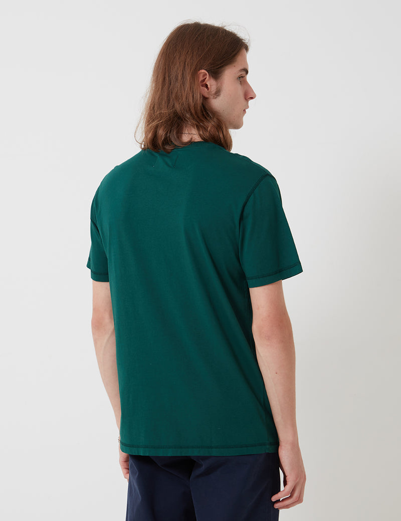 Bhode Besuto T-Shirt (Organic Cotton) - Forest Green