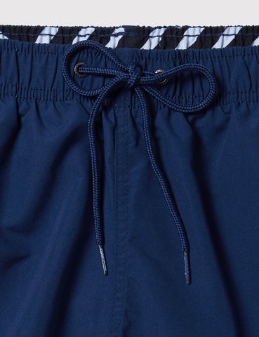 Boardies Drawstring Swim Shorts (Mid-Length) - Navy Blue
