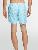 Boardies x AMH Yoga Swim Shorts (Mid-Length) - Blue