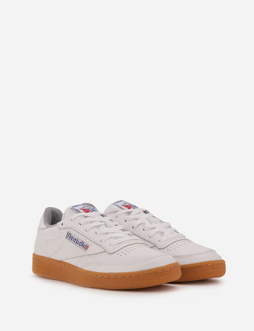 Reebok Club C 85 Gum (BS7635) - White/Reebok Royal/Flat Grey