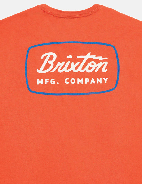 Brixton Jolt Premium T-Shirt - Red Clay