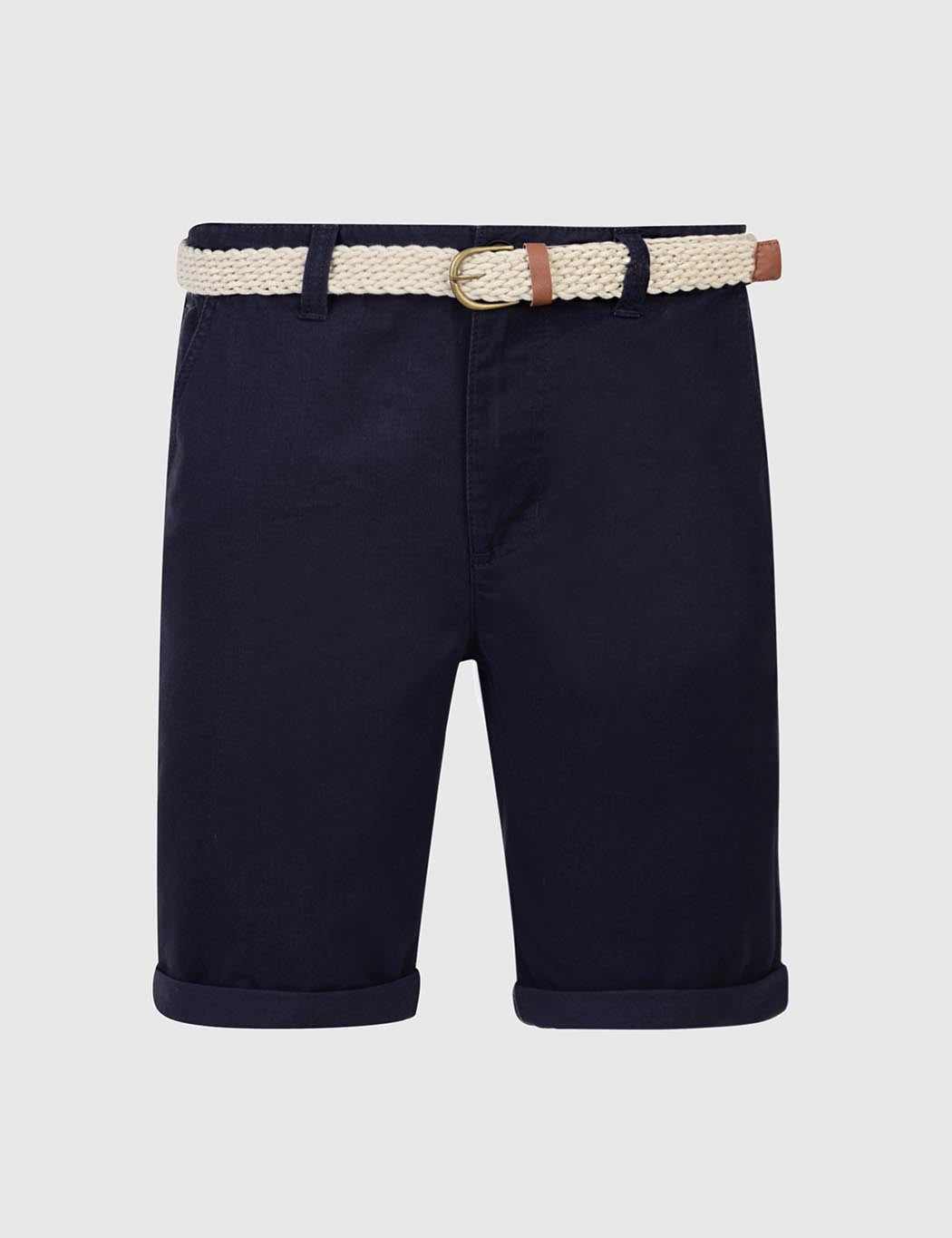 Bellfield Francis Chino Shorts - Navy Blue