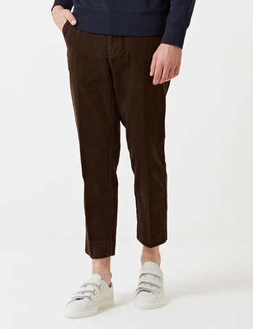 Barbour x Wood Wood Fidra Cord Trousers - Olive