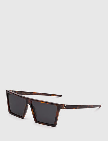 Super W Sunglasses - Havana Brown