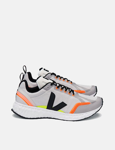 Veja Condor Mesh Running Shoes - Light Grey/Black