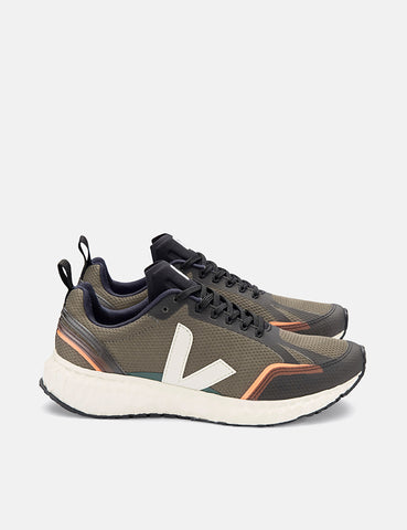 Veja Condor Mesh Running Shoes - Khaki/Natural
