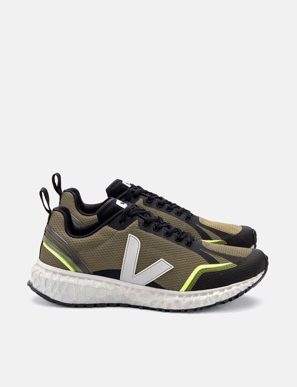 Veja Condor Alveomesh Running Shoes - Khaki/Grey