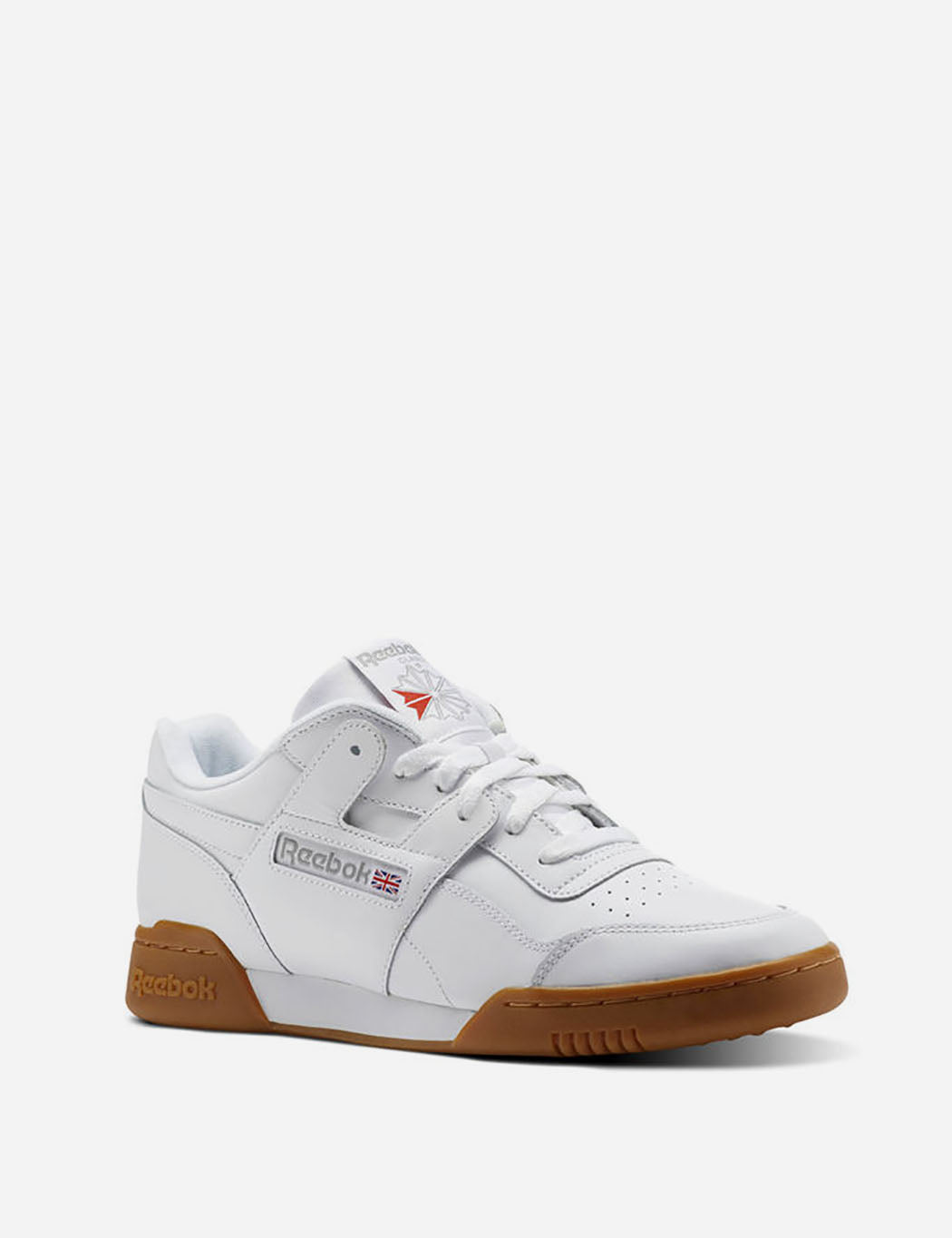 b95fc1a0cb3 ... Reebok Workout Plus Gum Sole (CN2126) - White Carbon Classic Red ...