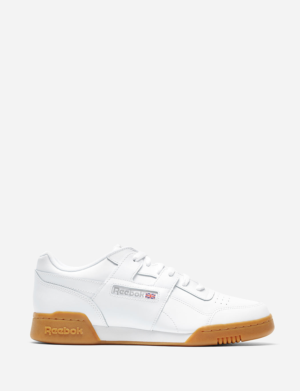 b17f5b2347 Reebok Workout Plus Gum Sole (CN2126) in White Carbon Classic Red