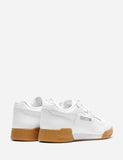 Reebok Workout Plus Gum Sole (CN2126) - White/Carbon/Classic Red