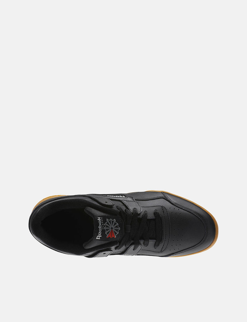 Reebok Workout Plus Gum Sole (CN2127) - Black/Carbon/Classic Red