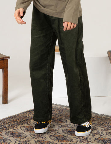 SCRT Cord Work Pants - Forest Green