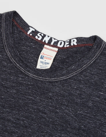 Champion x Todd Snyder Crewneck T-Shirt - Charcoal Heather