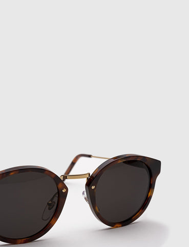 Super Panama Sunglasses - Havana Brown