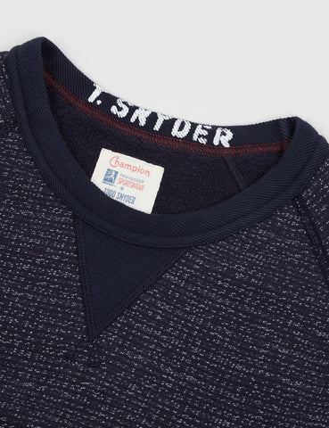 Champion x Todd Snyder Crewneck Sweat - Navy