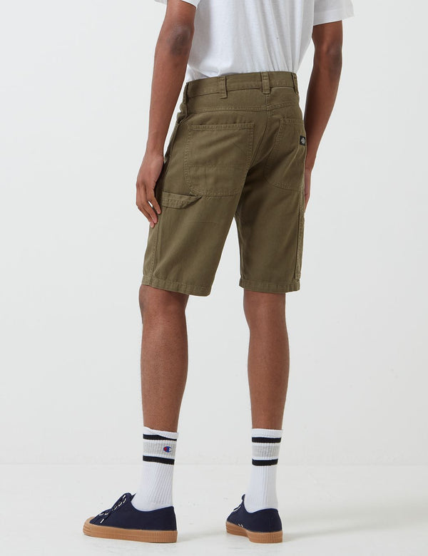 Dickies Fairdale Carpenter Shorts - Dark Olive