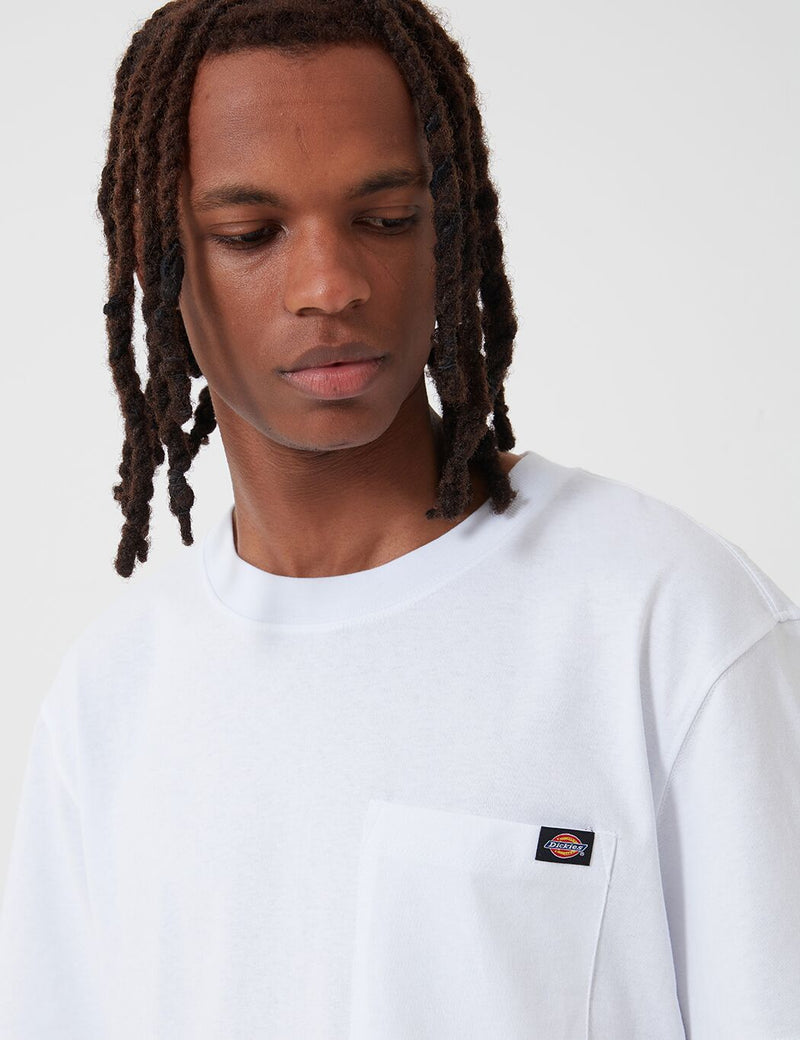 Dickies Porterdale Pocket T-Shirt - White
