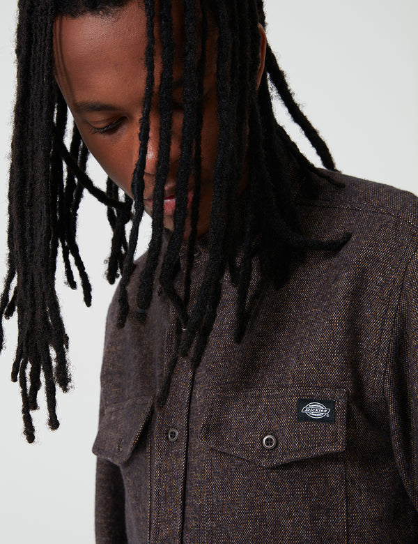 Dickies Woodmere Shirt - Brown Duck